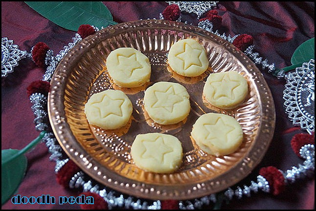 how to make indian sweet peda