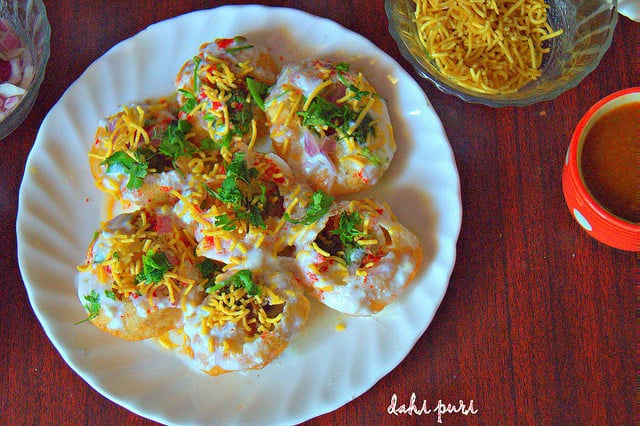 how to make dahi puri recipe
