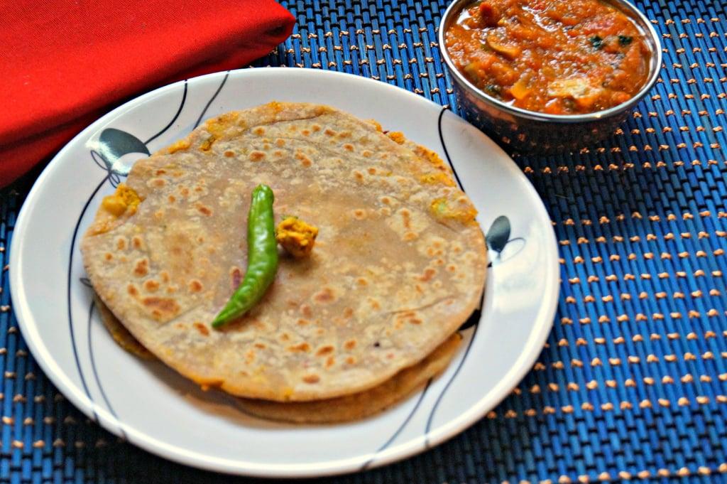 GOBI PARATHA Recipe | nithyaskitchen